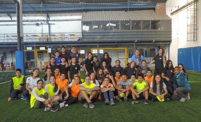Encuentro Amistoso con Liceo 56